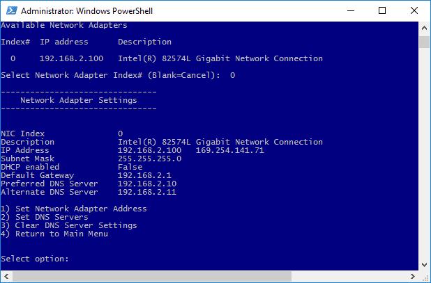 كيفية تهيئة إعدادات الشبكة في Windows Server 2016