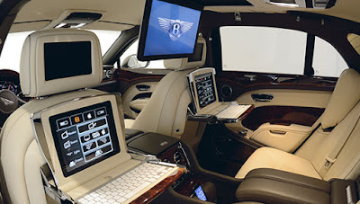 Bentley Mulsanne Interior and Features
