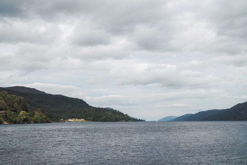 Promenade au Loch Ness en Ecosse
