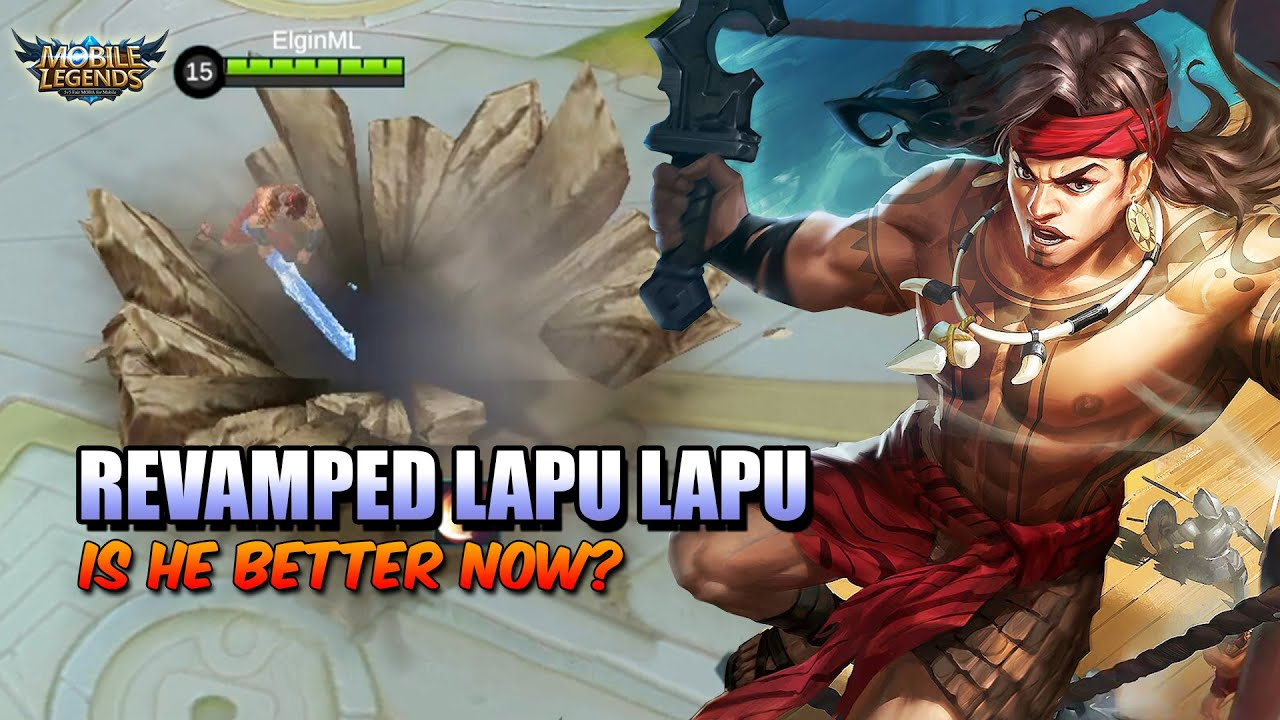 Mobile Legends Shows Revamp Lapu - Lapu With Stronger Skills!