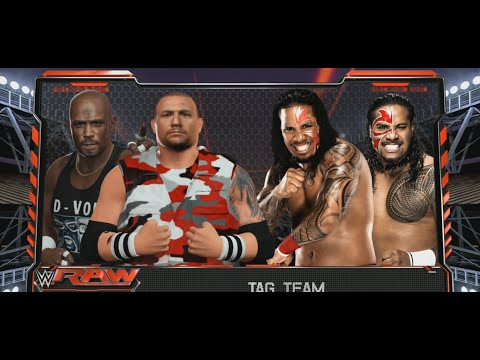 WrestleMania Dudley Boyz Jimmy Jey Uso D-von Bubba Ray Tag Match