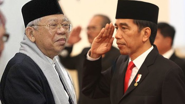 Didukung Elemen Umat, Maruf Amin TKO atau Justru Berhasil Meng-KO Jokowi?
