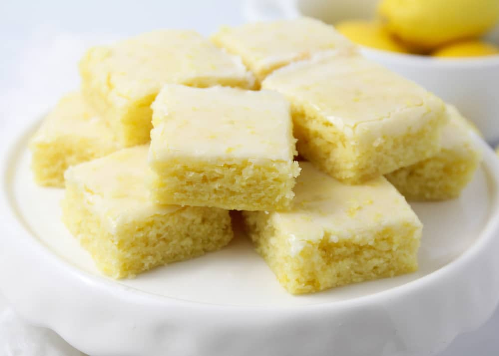 postre de limón