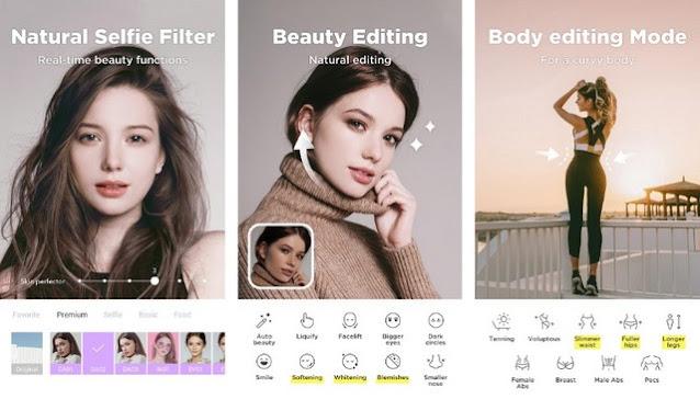 أفضل تطبيقات كاميرا تجميل الوجه للأندرويد