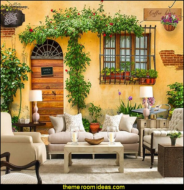Garden Views wallpaper Mural