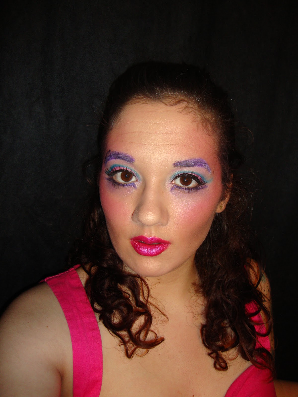 Cosmetic Reviews By Posh: Crazy Makeup On A Rainy Day