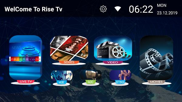 RISE IPTV AVEC CODE ACTIVATION 12 MOIS