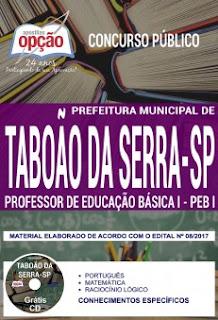 Apostila Concurso Prefeitura de Taboão da Serra 2018