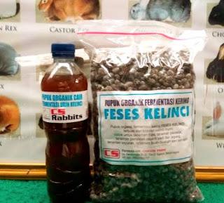 Fermentasi kotoran dan urine kelinci untuk pupuk Nutrisi Hidroponik