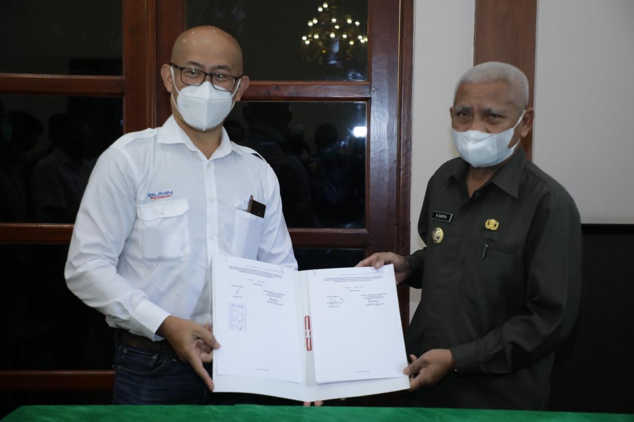 Bupati Asahan Menandatangani Persetujuan Dokumen RTD PT Inalum (Persero) dan SOP Jika Terjadi Keadaan Darurat