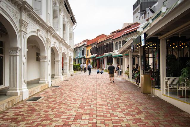 Shop house di Emerald hill road-Singapore