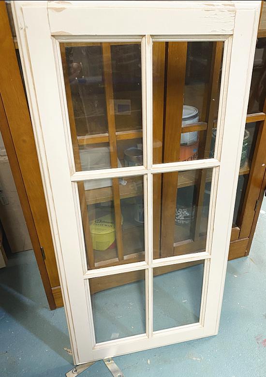 6 panel kitchen cabinet window