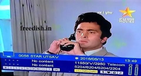 Star Utsav Movies ki Nayi Frequency Kya hai, Channel Numberkya hai