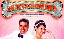Akshay Kumar's Entertainment Review - Not so entertain