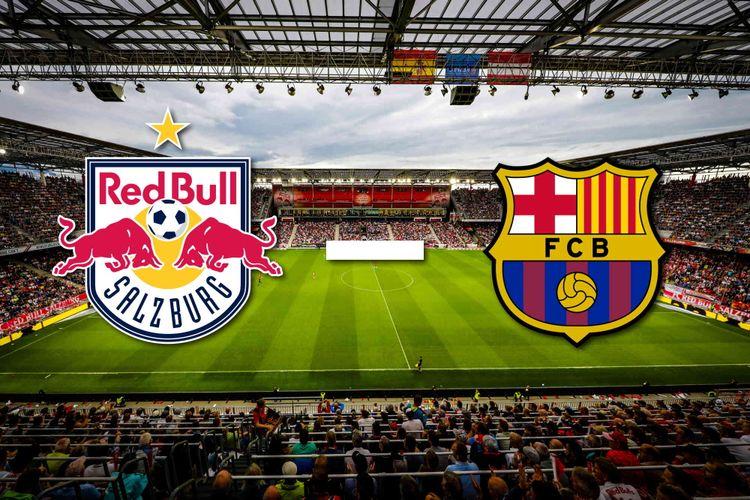 مباراة برشلونة وريد بول اليوم