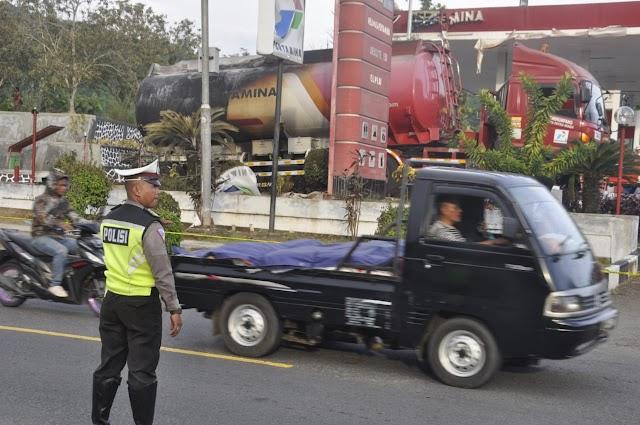 Tangki BBM Terbakar Di SPBU Batulawang,  Polres Banjar Lakukan Penyelidikan