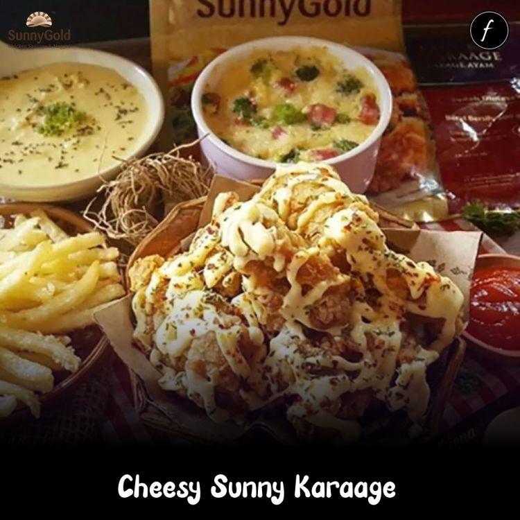 Cheesy Sunny Karaage