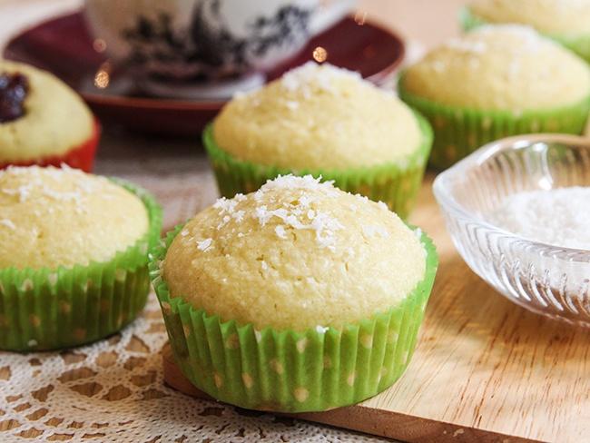 Muffin dừa