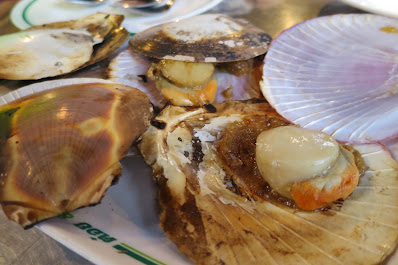 Bangkok, T&K Seafood, scallops