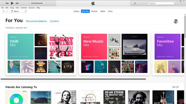 iTunes Pemutar Audio dan Video di Windows