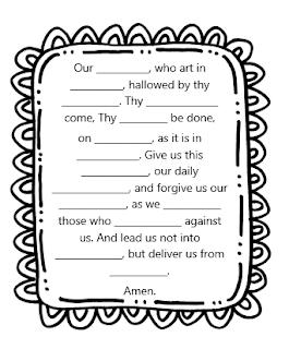 Adventures in Teaching First Grade Catechism: Prayer