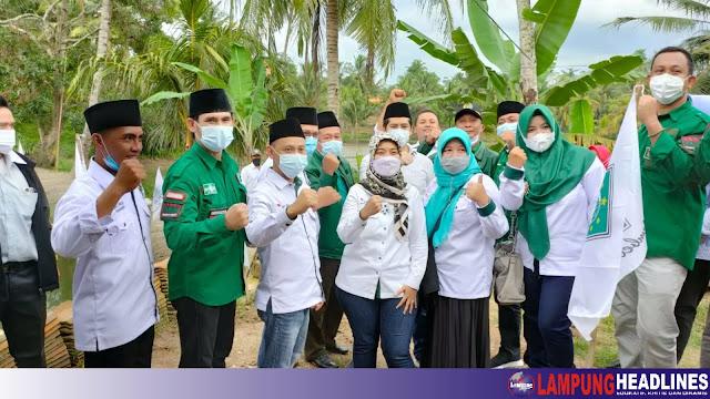 DPW PKB Lampung, Kunjungan Silahturahmi Ke DPC Tanggamus, Dari Komitmen Sampai Mancing Ikan Dan Panen Terong