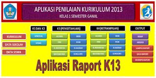 Download Aplikasi Raport K13 SD Terbaru Kelas 1 2 4 5 Tahun 2019/2020