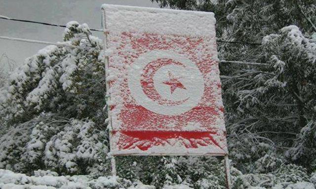 تونس : تساقط الثلوج في المرتفعات مع انخفاض في درجات الحرارة