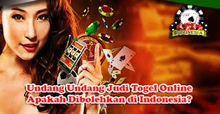 Undang Undang Judi Togel Online, Apakah Dibolehkan di Indonesia?