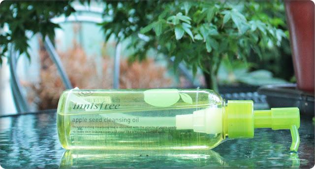Jabłkowy olejek wczoraj i dziś - INNISFREE Apple Seed Cleansing Oil