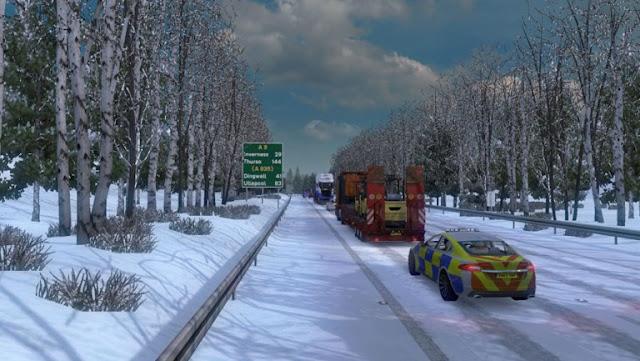 ets 2 frosty winter weather mod v7.1 screenshots 2