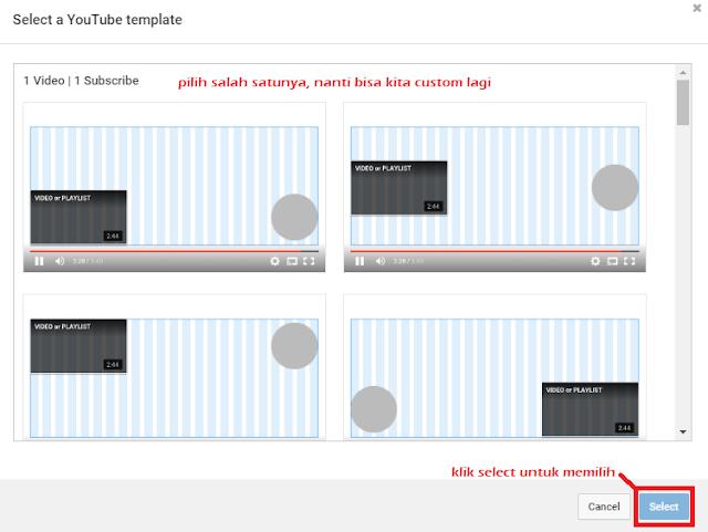 Membuat Postingan YouTube Menjadi Keren Seperti Professional