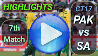 PAK vs SA 7th Match