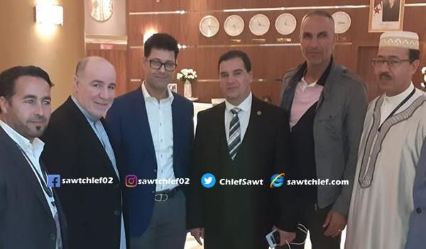 المدرب سمير زاوي يلتقي وزير الشؤون الدينية بالشلف