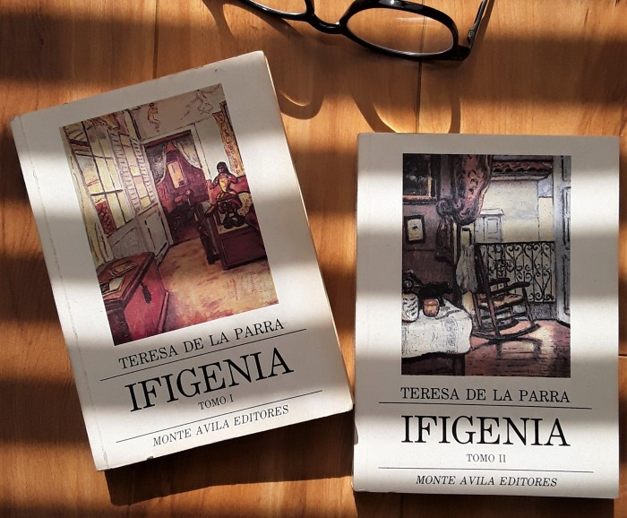 #ifigenia #teresadelaparra #autoravenezolana #libro #obraliteraria