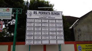Jadwal Dokter RS Permata Bunda Purwodadi (Terbaru)
