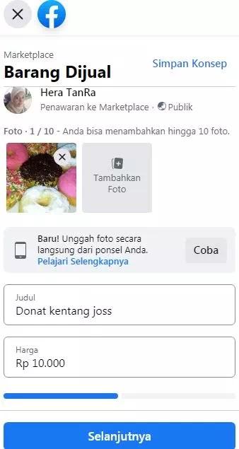 Cara Menjual Barang di Facebook Marketplace-2