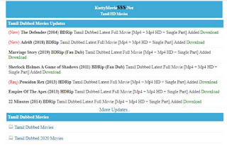 Kuttymovies 2021: Kuttymovies Collection Tamil Dubbed Movies Download