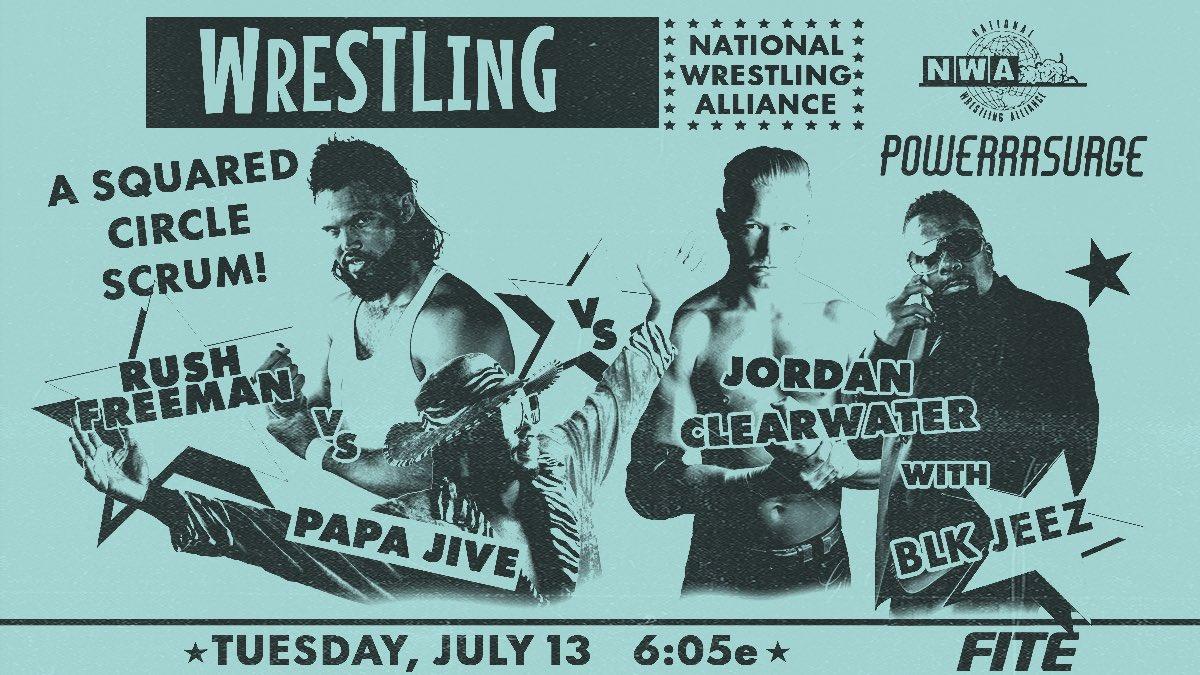 Cobertura: NWA PowerrrSurge (13/07/2021) – Por Joseph!