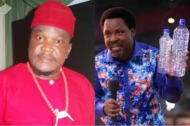 """TB Joshua's Death: """"If Holy Water Can Heal The Sick, Your Pastor Wouldn't Have Died Young - Ugezu"""