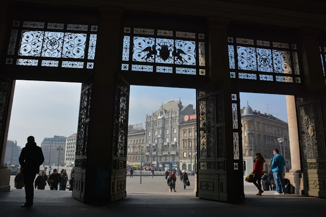 Central Station Budapest entry