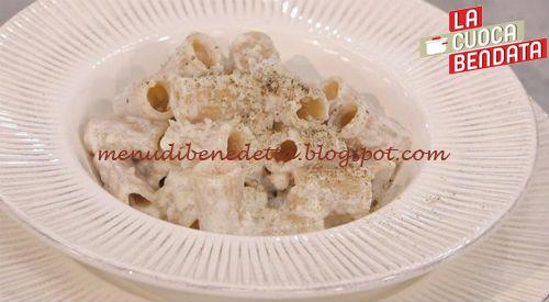 La Cuoca Bendata - Gricia con guanciale e ricotta ricetta Parodi
