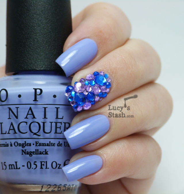 Lucy's Stash - Bejewelled manicure