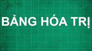 Cách học bảng HÓA TRỊ nguyên tố hóa học và nhóm nguyên tử nhanh nhất lớp 8   hóa học lớp 6 7 8 9
