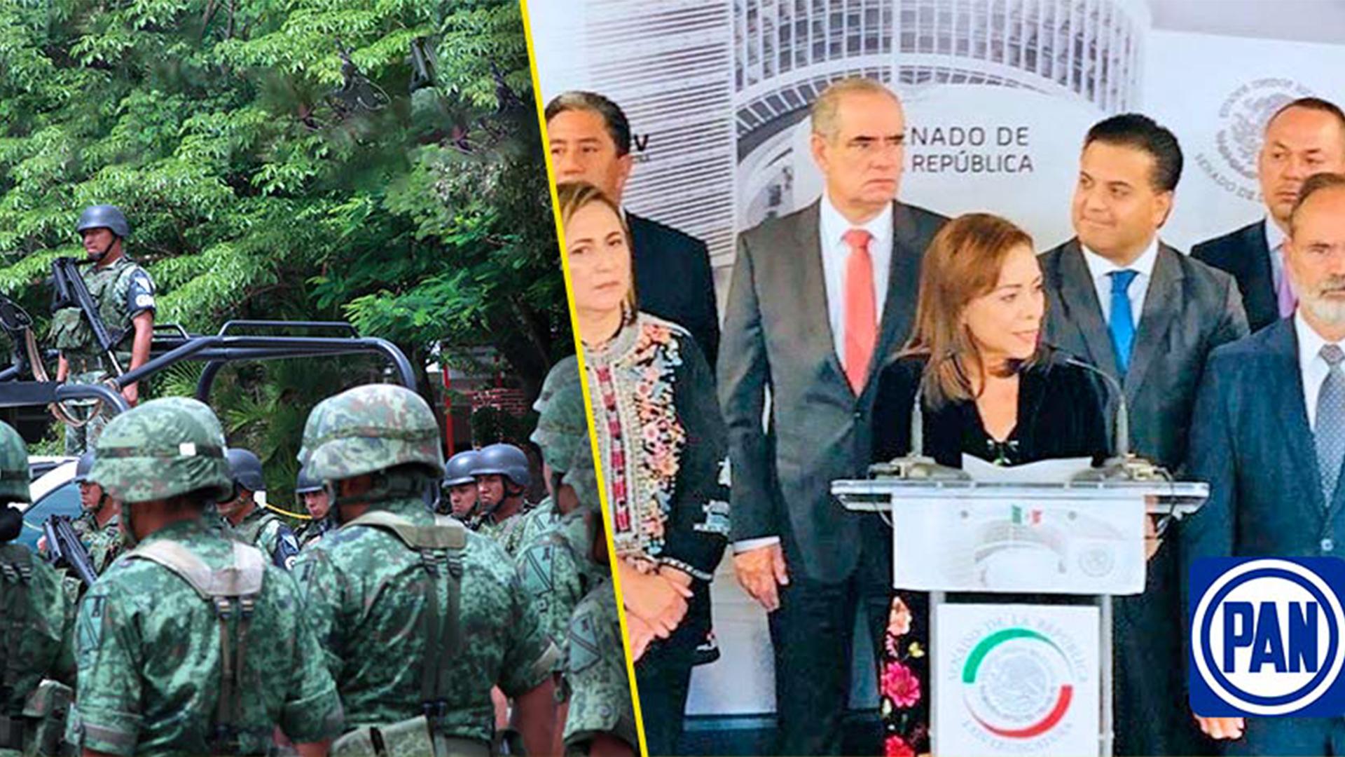 El PAN exige investigación profunda al Ejército, tras detención del General Cienfuegos