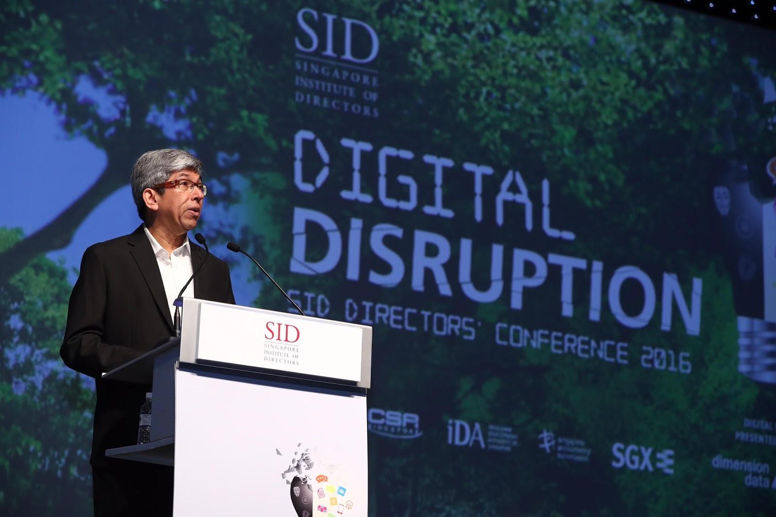 Singapore Institute of Directors Directors' Conference 2016