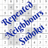 Repeated Neigbhours Sudoku