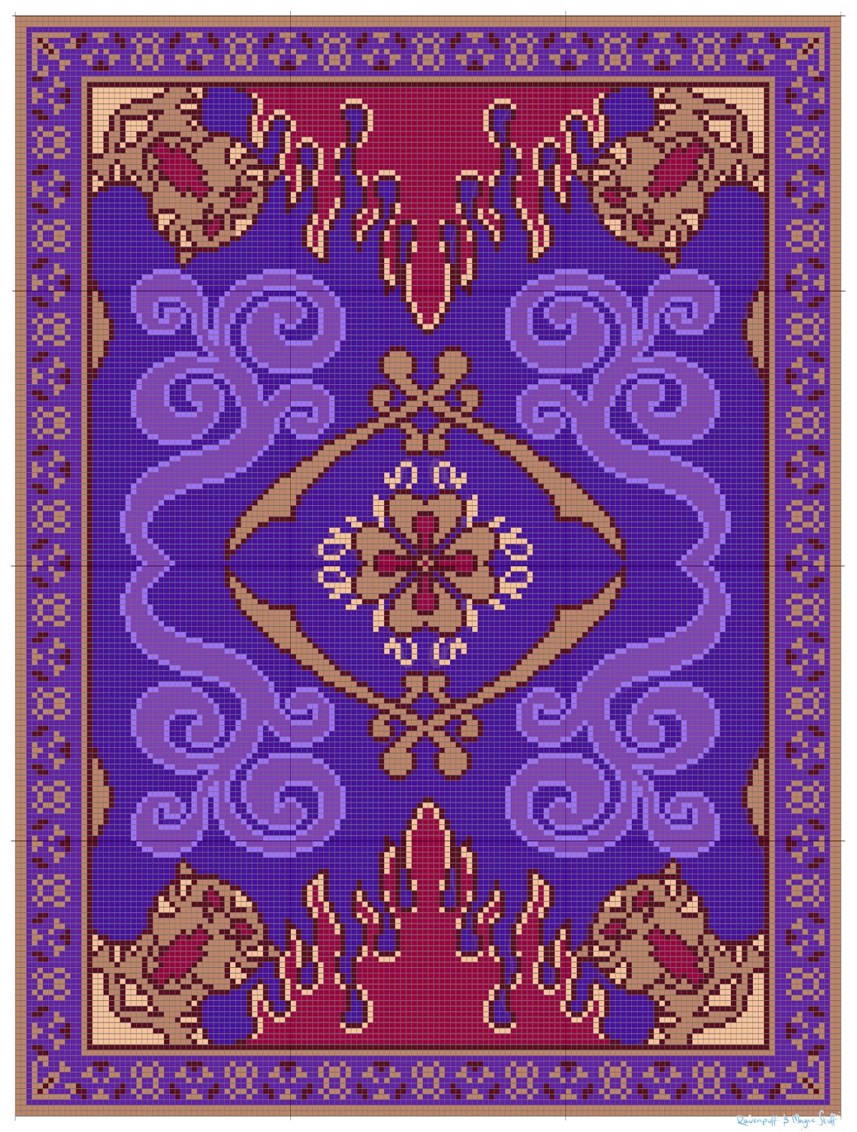 Ravenpuff & Magic Stuff: Aladdin's Flying Carpet