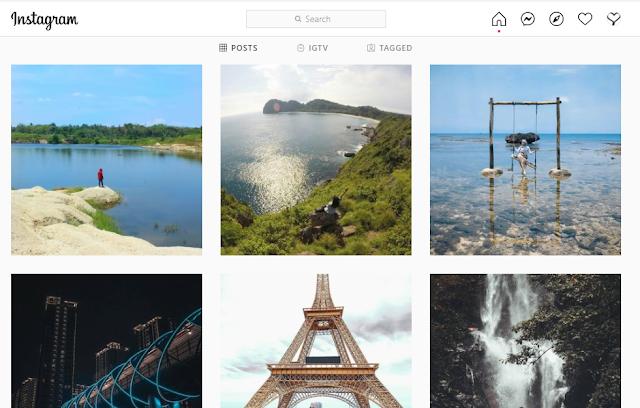 Cara Mudah Menempelkan Poto dan Video Instagram ke Blogg