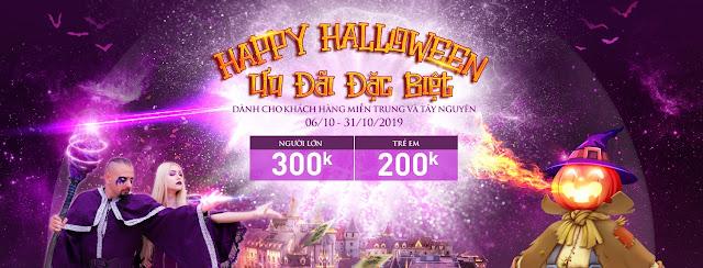 Địa điểm vui chơi Halloween tại Đà Nẵng mùa Thu 2019